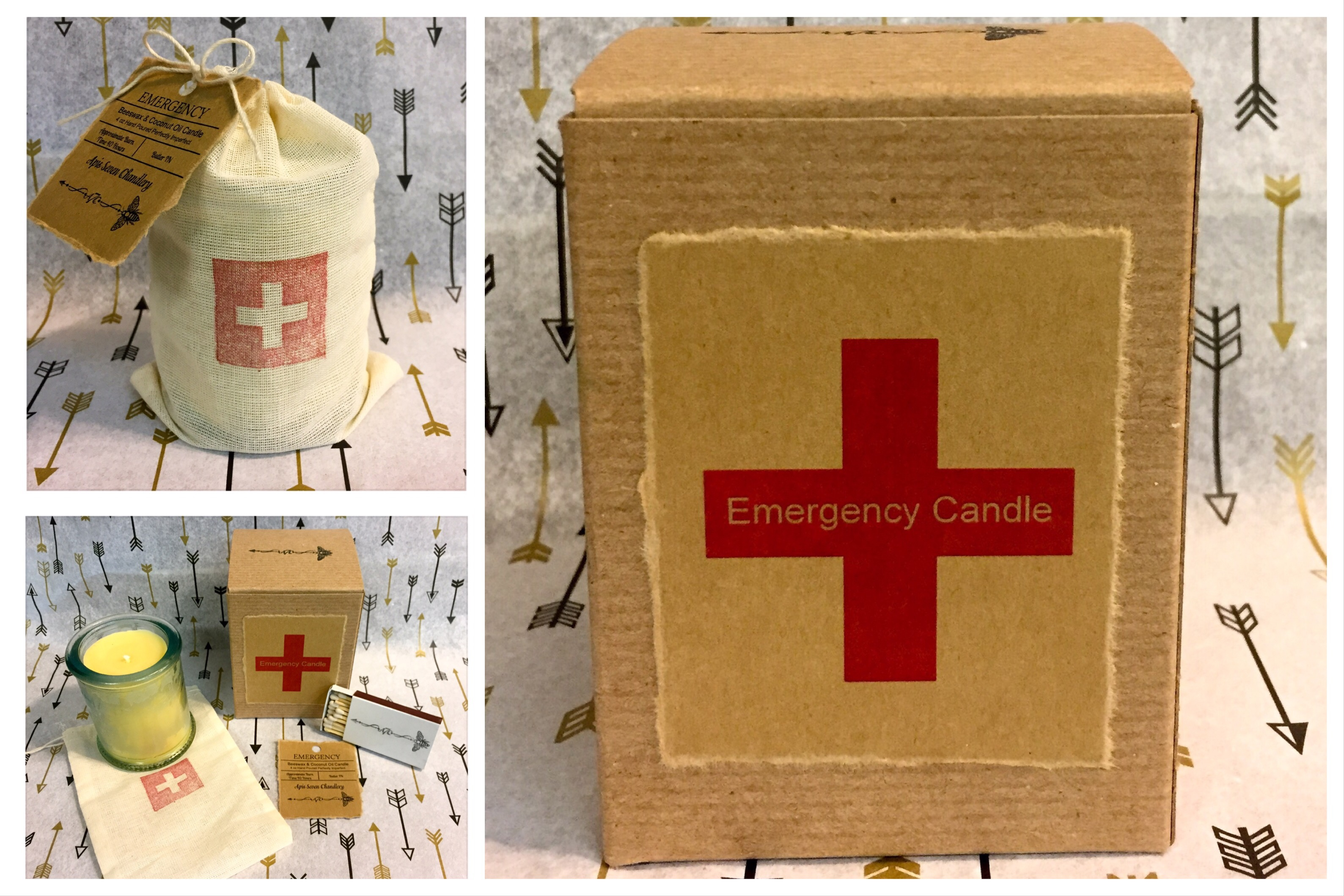 Emergency Candle – Apis Seven Chandlery
